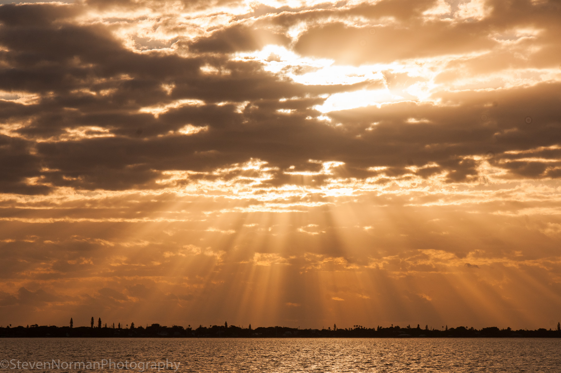 Morning Sun Breaks Through the Clouds | Steven's Travels